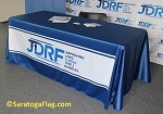.JDRF- Custom TABLE COVER Banners - Digital Print