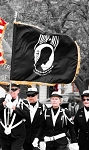 POW-MIA PARADE FLAG