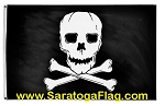 FLAG: Jolly Roger Pirate - Deluxe Applique Stitched