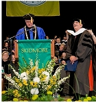 .SKIDMORE- PODIUM BANNER - Applique Stitch
