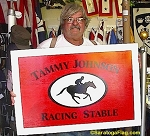 .TAMMY JOHNSON RACING STABLE - Custom Sign
