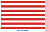 SONS OF LIBERTY FLAG- 13 Horizontal Stripes