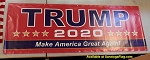 ...TRUMP- 2020 - VINYL BANNER -Made in USA