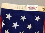 50 Star USA Flag- 2x3ft COTTON- Authentic - VintageSOLD