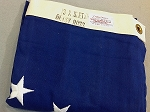 13 Star USA Flag- 3x5ft COTTON- Betsy Ross- Authentic - Vintage