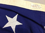 50 Star USA Flag- 5x8ft WOOL- Authentic - Vintage