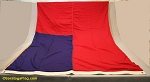 BURMA- 5x9ft Flag WOOL Vintage