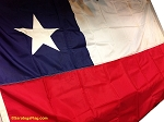 CHILE- 6x10ft Flag Nylon Vintage
