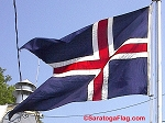 ICELAND- 6x9ft Flag Cotton Vintage