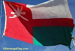 OMAN- 6x9ft Flag Cotton Vintage