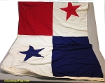 PANAMA- 5x9ft Flag Wool Vintage