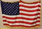 50 Star USA Flag- 3x5ft Rayon- Authentic - Vintage