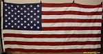 50 Star USA Flag- 5x9.5ft COTTON- Authentic - VintageSOLD