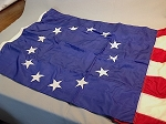 13 Star USA Flag- 6x10ft NYLON- Betsy Ross- Authentic - Vintage