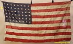 48 Star USA Flag- 3x5ft COTTON- Authentic - Vintage-SOLD