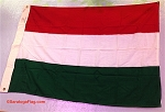 HUNGARY- 3x4ft Wool Flag - Vintage
