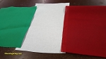 Bunting- Tri-Color Red White Green-Italy-COTTON