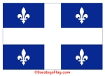 Quebec Flag- Canadian Province